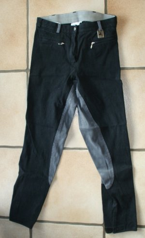 Riding Trousers black-grey
