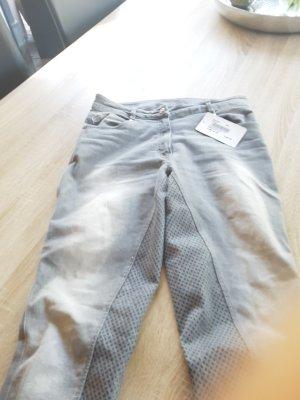Pantalón de equitación gris claro