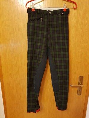 Pantalone da equitazione blu-verde