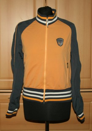 Reitjacke Trainingsjacke Pikeur Gr. 38 orange grau