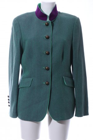 Reitmayer Traditional Jacket green-lilac weave pattern elegant