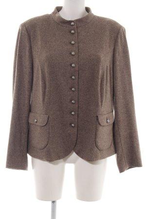 Reitmayer Blazer de lana color bronce moteado estilo «business»