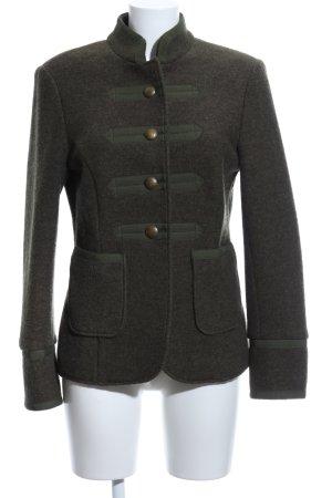 Reitmayer Wolljacke khaki meliert Vintage-Look