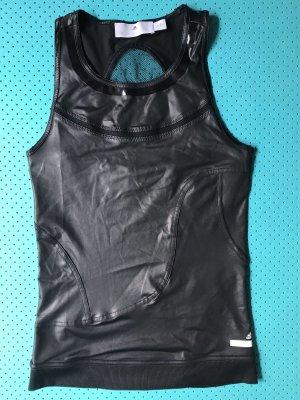 Adidas by Stella McCartney Mesh Shirt black polyester