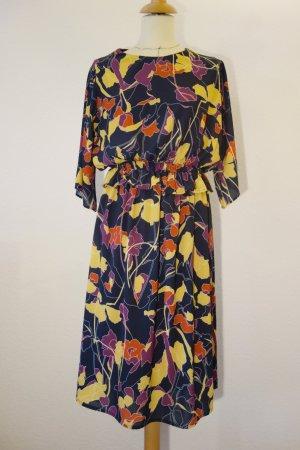 Reken Maar - Kleid mit abstraktem Blumenmuster in leuchtenden Farben