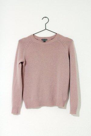 Relaxed Cashmere Jumper 100% Kaschmir Sweater puderrosa