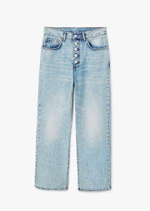 Mango Hoge taille jeans veelkleurig
