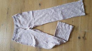 Eddie Bauer Pijama púrpura-blanco Algodón