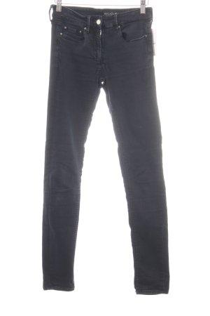 Religion Skinny Jeans schwarz Casual-Look