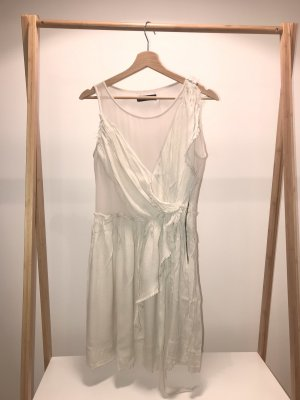 Religion Chiffon jurk nude