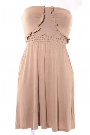 Relish Bandeaukleid camel Casual-Look
