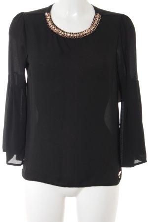 Relish Schlupf-Bluse schwarz Elegant