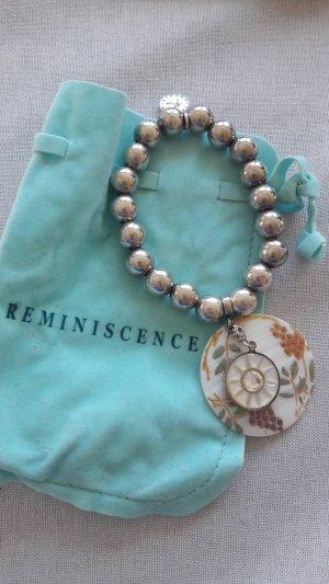 Reminiscence Armkette Armreif Armschmuck Perlen Perlmutt Muschel Hippie