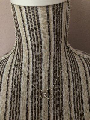 Reminiscence Halskette Stern Herz Silber 925