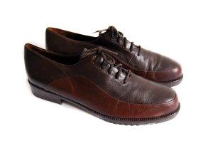 remonte manufaktur designer leder schnürschuhe falts loafers