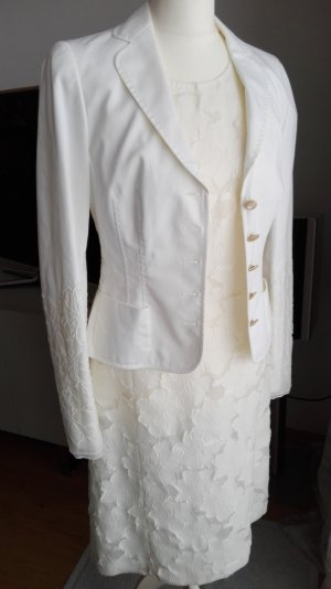 Rena Lange Traje para mujer blanco puro tejido mezclado