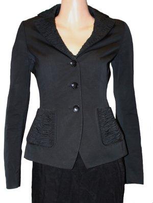 Rena Lange Korte blazer zwart Polyester
