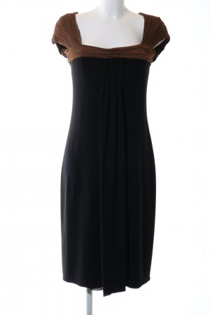 Rena Lange Abendkleid schwarz-braun Elegant