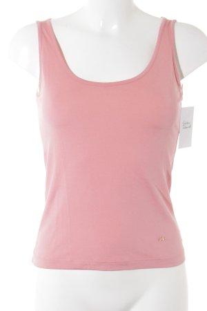 Rena Lange Basic Top rosa Casual-Look