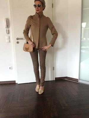 Rena Lange Blazer de lana camel