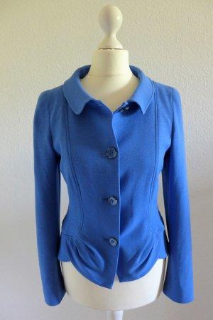 Rena Lange Blazer Jacke Schößchen Cornflower blau Gr. 34