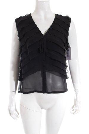 Rena Lange Bluse schwarz Elegant