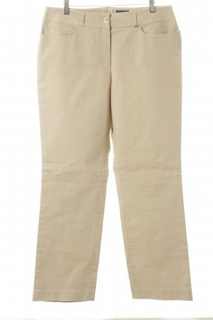 Rena Lange Chinos cream casual look