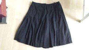 Rena Lange Plaid Skirt black