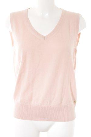 Rena Lange Feinstrickpullunder rosé Casual-Look