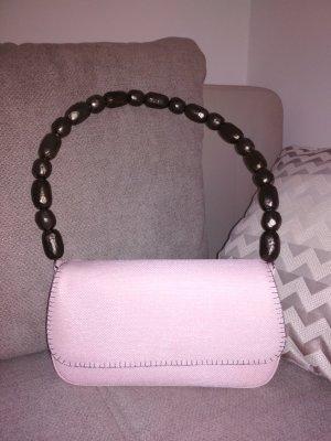 Rena Lange Handtasche in rosa mit Schulterriemen aus Metall