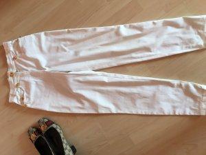 Rena Lange Wortel jeans wit-goud