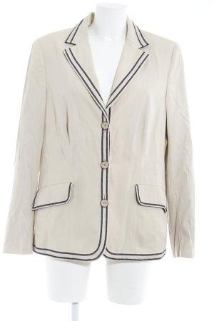 Rena Lange Korte blazer beige casual uitstraling
