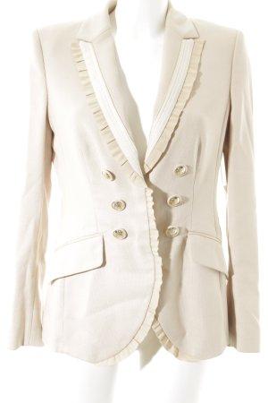 Rena Lange Long-Blazer beige-creme Elegant