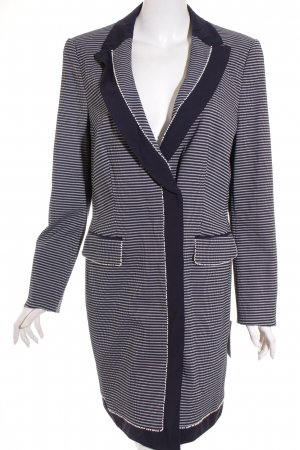 Rena Lange Long-Blazer dunkelblau-weiß Elegant