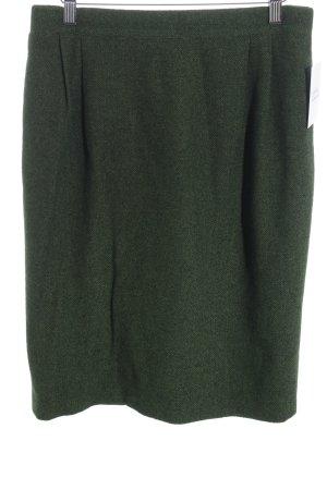 Rena Lange Midirock waldgrün meliert schlichter Stil