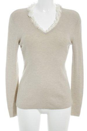 Rena Lange Chemise côtelée beige-crème élégant