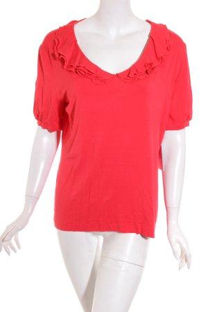 Rena Lange T-Shirt rot Elegant