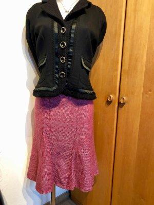 Rena Lange Falda Tweed rosa-rosa