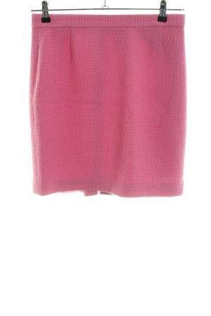 Rena Lange Tweed rok roze casual uitstraling