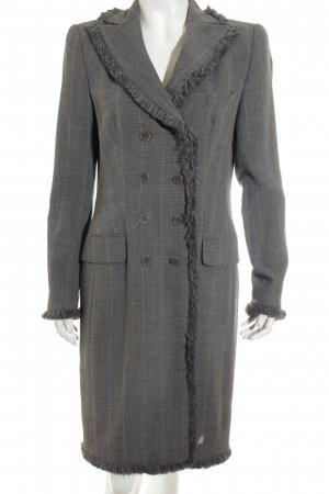 Rena Lange Übergangsmantel dunkelgrau-grau Elegant