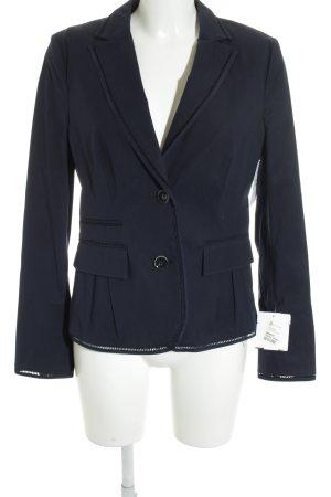 Rena Lange Unisex-Blazer dunkelblau Business-Look