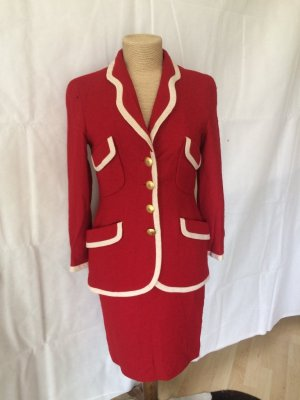 Rena Lange Vintage Tweed Kostüm Gr. 36