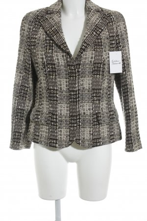 Rena Lange Wool Blazer abstract pattern casual look