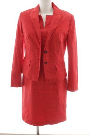 Rena Marx Kostüm rot Business-Look