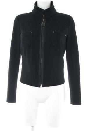 Rena Marx Wool Jacket black casual look