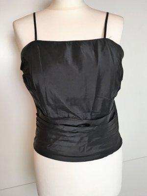 Renato Nucci Corsage Top black silk