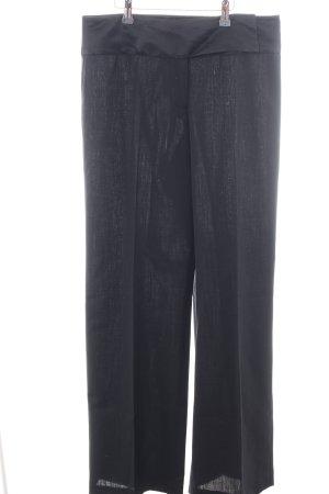 Renato Nucci Wollen broek zwart casual uitstraling