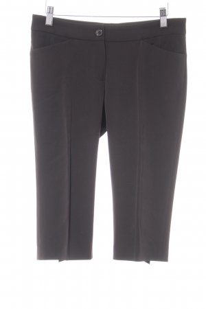 René Lezard 3/4 Length Trousers dark brown elegant