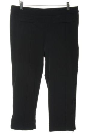 René Lezard Pantalone a 3/4 nero stile casual
