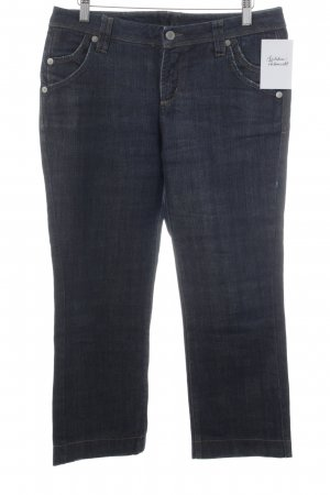 René Lezard 3/4 Jeans dunkelblau-blau Casual-Look
